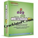WBS Schedule Pro 5.1.0025 Crack With Keygen Serial Key 4Download 2020
