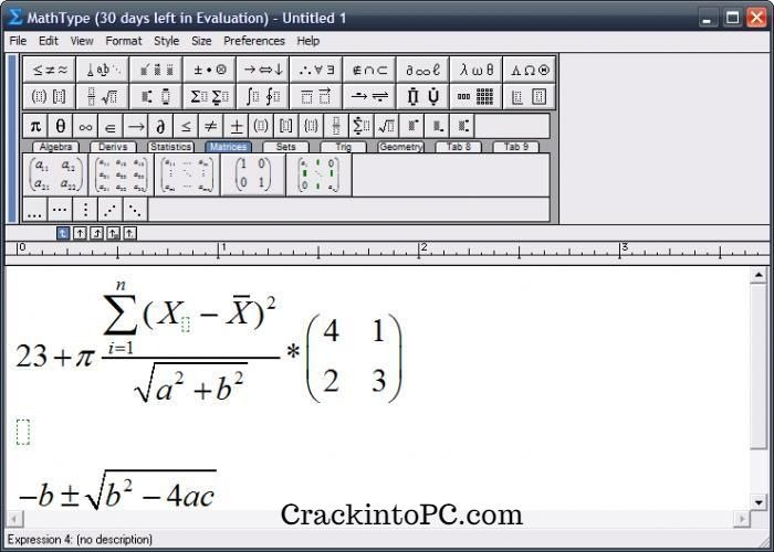 MathType 7.4.4 Crack With Full Keygen Download Free 2020 [Mac/Win]