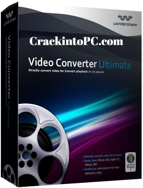 Wondershare Video Converter 11.7.5.1 Crack + Full version Registration Key Download