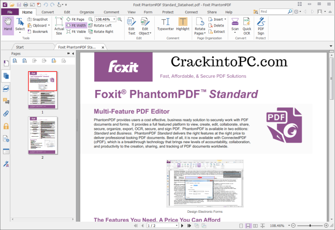 Foxit Reader 10.0.0.35798 Crack With Activation Key 2020 Download Free
