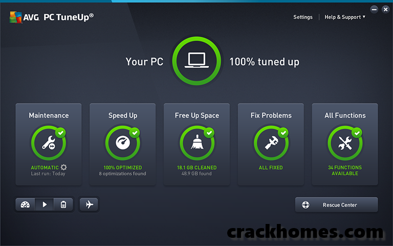 AVG PC TuneUp 2020 Crack With Full Version Product Key Download Free