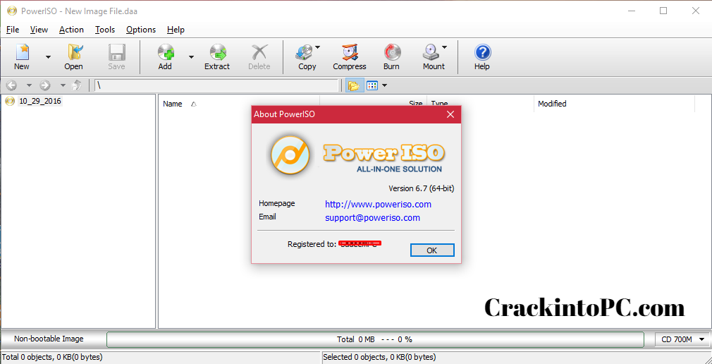 PowerISO 7.6 Crack With Serial Key Latest Version Download [2020]