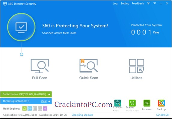 360 Total Security 10.8.0.1234 Crack With License Key Download 2021 Free